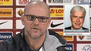 """Holzschuh zu Schaafs Rücktritt: """"Leute haben das Sagen, die keine Fußball-Fachleute sind"""""""