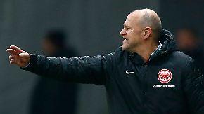 Eintracht-Trainer schmeißt hin: Thomas Schaaf fühlt sich hintergangen
