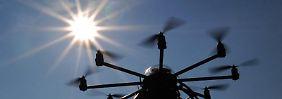 Polizei nimmt Drohnenbesitzer fest: Beinahe-Crash mit Lufthansa-Maschine