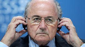 Festnahme von Topfunktionären: Blatter schwingt sich zum Chefermittler auf