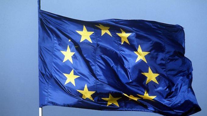 30 Jahre alt und nun mit einer Sondermünze geehrt - die Europaflagge.