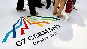 G7-Finanzministertreffen in Dresden: Tsipras sieht Fortschritt, Geldgeber widersprechen