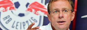 Ralf Rangnick peilt mit RB den Bundesliga-Aufstieg an.