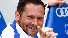 """""""Die Tinte ist trocken"""": Dardai unterschreibt neuen Vertrag bei Hertha"""