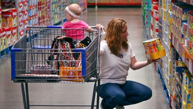 Der Konsum in den USA zieht an.