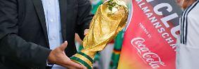 Der WM-Pokal ist derzeit in deutscher Hand - mindestens bis 2018.