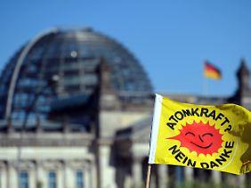 Am Donnerstag wird die Atompolitik im Bundestag debattiert.