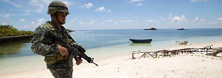 Truppen im Südchinesischen Meer: China und USA liefern sich Verbalscharmützel