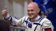Und auch deutsche Raumfahrer wie Sigmund Jähn und Alexander Gerst (im Bild) sind von Baikonur aus gestartet (mit dpa).