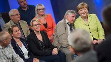 Gut leben mit der Kanzlerin: Merkel auf dem Dialog-Trip