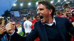 Die Meisterschaft von HSV-Coach Bruno Labbadia ist und bleibt die Relegation.