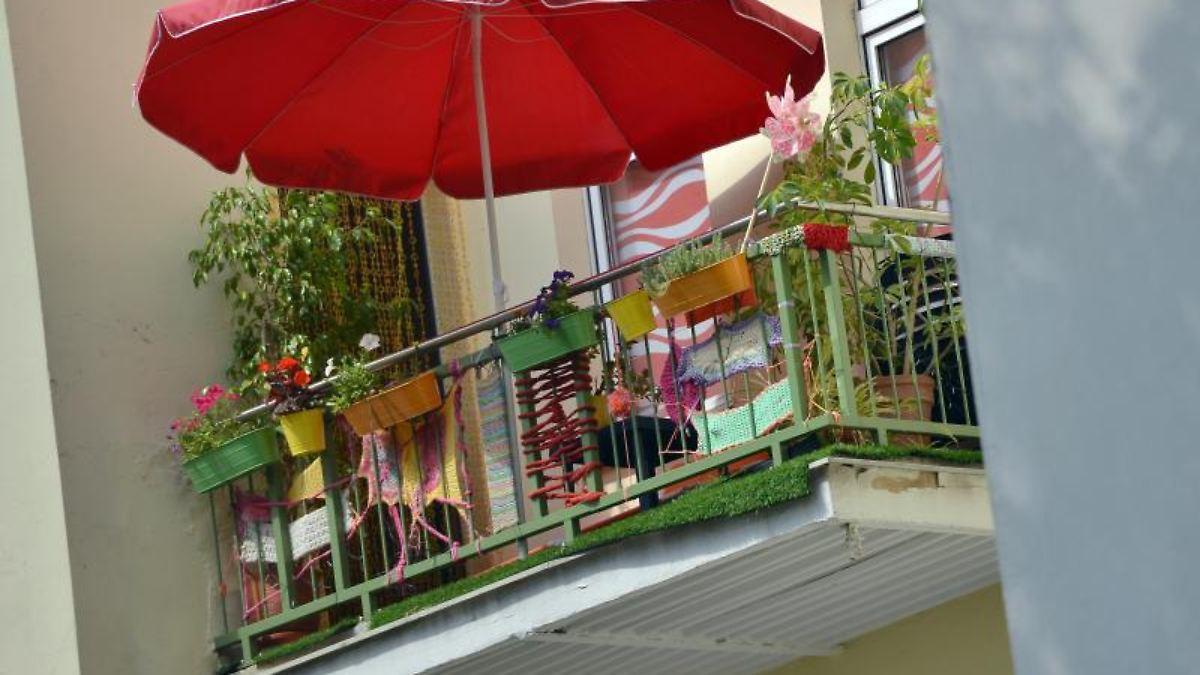 Blumenkästen Und Co.: Das Dürfen Mieter Auf Dem Balkon