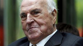 Sorge um Altkanzler: Helmut Kohl liegt auf der Intensivstation