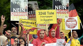 Umstrittener Gast in Berlin: Besuch von Ägyptens Präsident Al-Sisi stößt auf Kritik