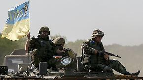 Bruch des Minsker Abkommens: Kämpfe in der Ukraine gehen mit schweren Waffen weiter