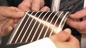 Auf Papier gedruckte Module: Solarblatt erzeugt einfach und günstig Energie