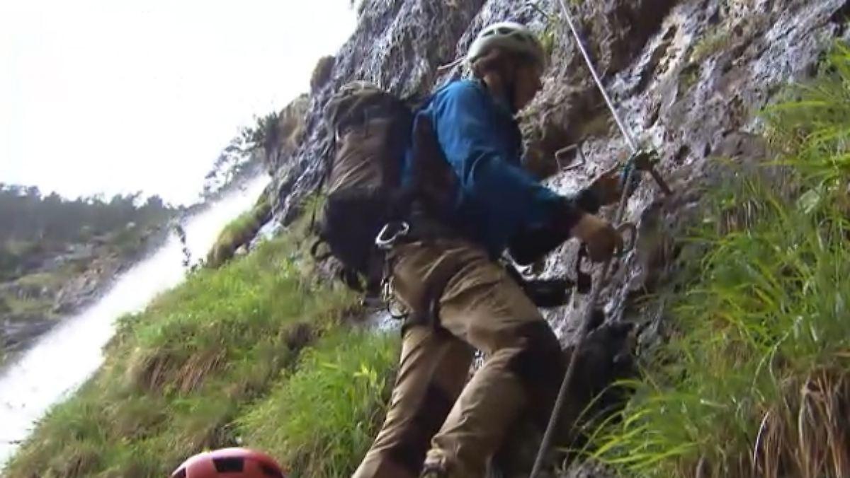 Klettersteig Achensee : Sommerreise spezial auf dem klettersteig am achensee n tv