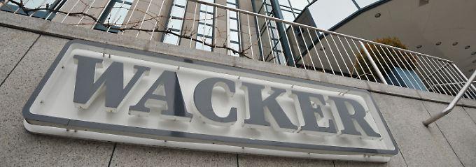 Aktie im Plus: Wacker Chemie verdient mehr Geld