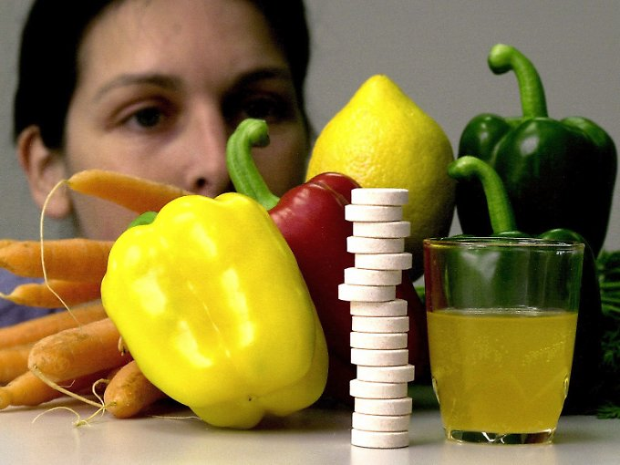 Paprika statt Pillen, empfehlen Experten.
