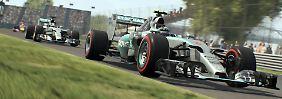 In der wirklichen Formel 1 ist Lewis Hamilton der Spitzenreiter. In F1 2015 kann der Spieler das Blatt aber wenden.