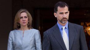 Promi-News des Tages: König Felipe VI. erkennt seiner Schwester Adelstitel ab