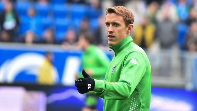 Stürmer Max Kruse wechselt von Borussia Mönchengladbach zum VfL Wolfsburg.