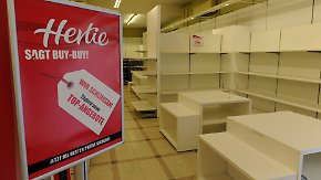 Neue Konzepte gefragt: In den Kaufhäusern gehen die Lichter aus