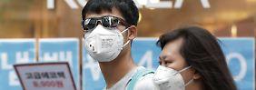 Senkung des Leitzinses: Mers-Virus setzt Wirtschaft von Südkorea zu