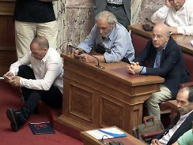 Unkonventionell wie immer: Yanis Varoufakis.