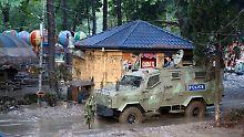 Nach Überschwemmungen: Weißer Tiger tötet Mann in Tiflis