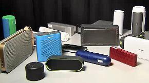 n-tv Ratgeber: Bluetooth-Lautsprecher im Test