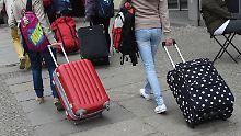 """Beschränkung """"geht Reisenden nahe"""": Verband stoppt Plan für kleines Handgepäck"""
