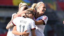Über Schweden ins Viertelfinale: DFB-Frauen sorgen stets für Stress