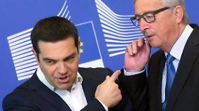 Lösung der Griechenland-Krise nah?: Nicht alle teilen Junckers Optimismus im Schuldenstreit
