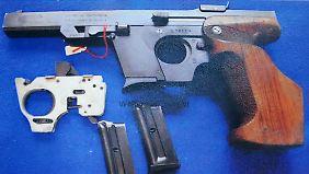 Mit einer solchen Waffe schoss die Anwältin um sich.