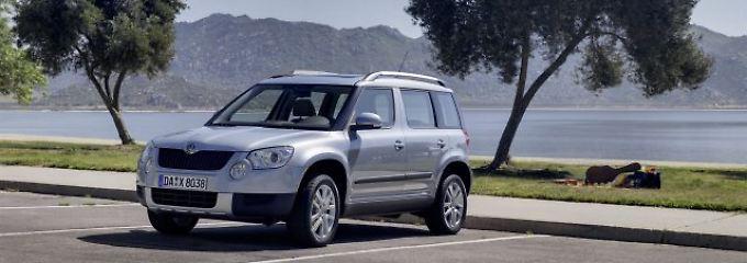 Raumer im Gebrauchtwagen-Check: Skoda Yeti: Einer der besten Kompakt-SUV