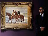 """""""Zwei Reiter am Strand"""" von Max Liebermann kam im Rahmen der Versteigerung """"Kunst des Impressionismus und der Moderne"""" unter den Hammer."""