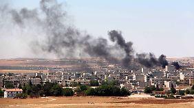 Überraschungsangriff des IS: Terroristen dringen erneut in Kobane ein