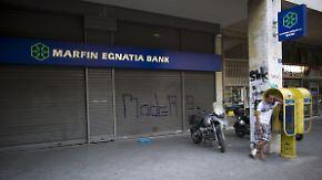EZB als Garant für Bargeld: Was passiert, wenn griechische Banken schließen?