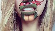 Du hast da was am Mund!: Garfield & Co. erwecken Lippen zum Leben