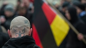Bericht des Verfassungsschutzes: Rechtsextreme Gewalt nimmt zu