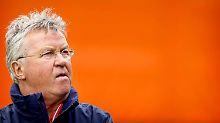 """""""Ich finde es schade, dass es so gelaufen ist"""": Guus Hiddink."""