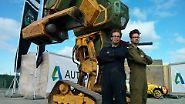 Duell der Roboter-Giganten: MegaBot fordert Kuratas heraus