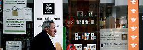 Sorge in Griechenland: Medikamentenvorräte könnten knapp werden