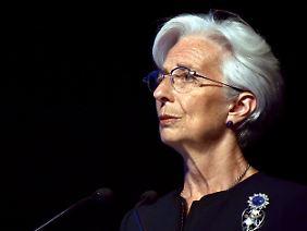 """IWF-Chefin Christine Lagarde bietet Griechenland """"technische Unterstützung"""" an."""