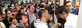 24 Stunden ohne U-Bahn: London versinkt im totalen Verkehrschaos