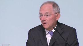 "Athen muss Vertrauen schaffen: Schäuble rät Tsakalotos ""Just do it"""