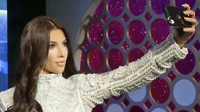 Promi-News des Tages: Kim Kardashian steht bei Madame Tussaud's in London