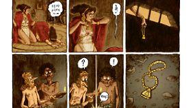 Gold - Horodamus und Berkan bekommen von Tara einen Vorgeschmack auf den Reichtum, den sie sich erhoffen.