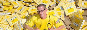 WM im Pizzakartonfalten: Pizzabäcker stellt neuen Rekord auf